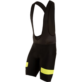 PEARL iZUMi Escape Quest Splice Culotte con tirantes Hombre, black/screaming yellow